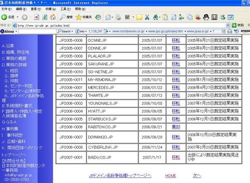 百度日本域名迷案(6)因日本域名案首度被起诉 - sz1961sy - 沈阳(sz1961sy)的网易博客