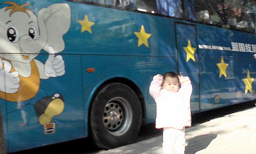 沈瑗杰在去姥姥家路上(2008年11月5日) - sz1961sy - 沈阳(sz1961sy)的网易博客