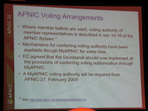 APNIC第26次会议报道(9)激烈竞争的NC选举 - sz1961sy - 沈阳(sz1961sy)的网易博客