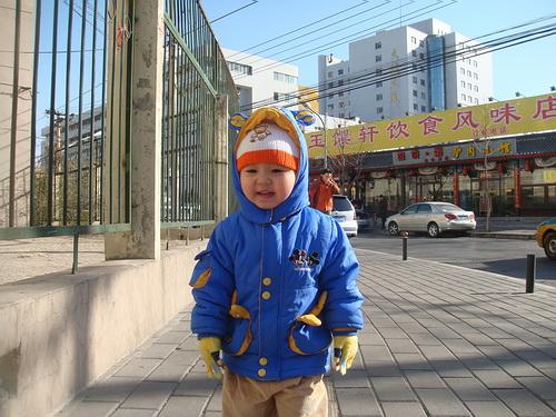 09春节假北京生活录(3)沈瑗杰爬上土城墙 - sz1961sy - 沈阳(sz1961sy)的网易博客