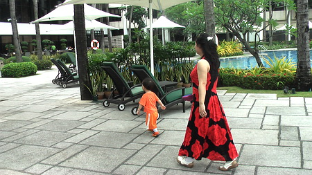 一家子飞往马尼拉(9)酒店氛围(外面) - sz1961sy - 沈阳(sz1961sy)的网易博客